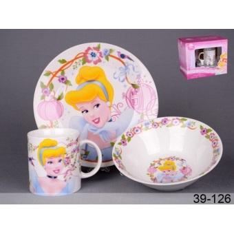 Набор детской посуды Принцесса (39-126)