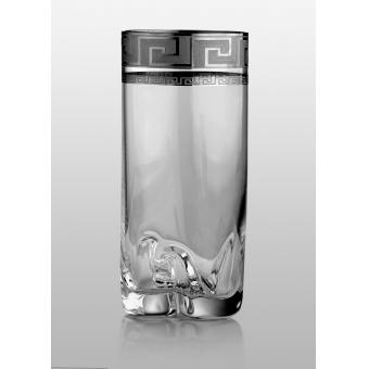 Barline Trio набор стаканов для напитков (Kostka платина) 300 мл. 6 шт.
