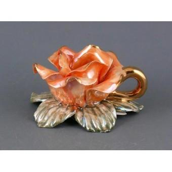 Подсвечник роза (180-524)