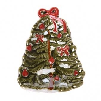 Блюдо новогодняя елка (180-604)