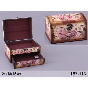 Шкатулка Розы (187-113)