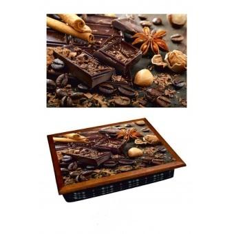 Поднос на подушке Шоколад (2.44)