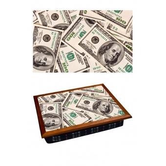 Поднос на подушке Доллары (2.83)