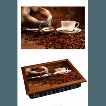 Поднос на подушке Кофейные зерна (2.16)