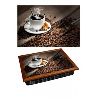 Поднос на подушке Кофе с корицей (2.27)