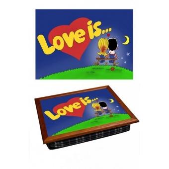 Поднос на подушке Love is (2.34)