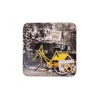 Подставки под горячее Велосипед, 4 шт. (259-170)
