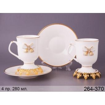 Чайный набор Принцесса, 4 пр. (264-370)