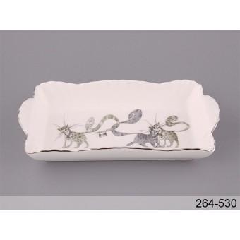 Блюдо Веселые коты (264-530)