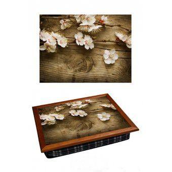 Поднос-подушка Цветок вишни