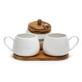 Чайный набор с сахарницей Naturel (289-189)