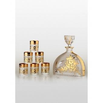 Prestige набор для водки Arabesque gold (6+1) (30-039)
