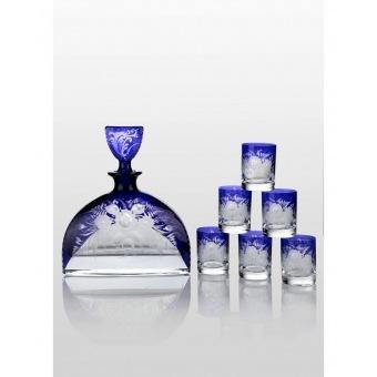 Prestige набор для водки Nemo Cobalt (6+1)