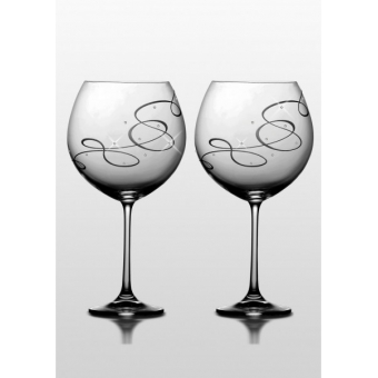Набор бокалов для вина Grandioso Compliment SWAROVSKI, 2 шт.