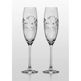 Grandioso набор бокалов для шампанского (Helena Swarovski) (31-03-230-2-061)