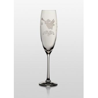 Бокалы для шампанского Grandioso Angel Swarovski, 2 шт.
