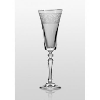 Alex набор бокалов для шампанского платина (34-03-180-6-078)