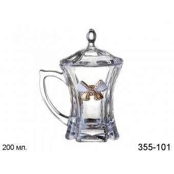 Кружка заварочная с крышкой Принцесса (355-101)