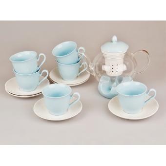 Чайный набор Blue, 14 пр. (359-009)