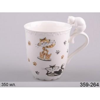 Чашка с котами Пушистик (359-264)