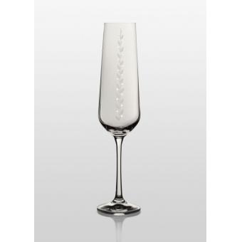 Бокалы для шампанского Sandra Nika Swarovski, 2 шт. (38-03-200-2-069)