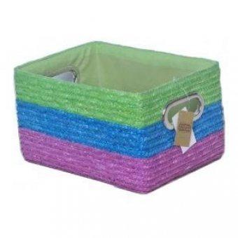 Короб плетеный Микс для хранения вещей (HZ-541-2)
