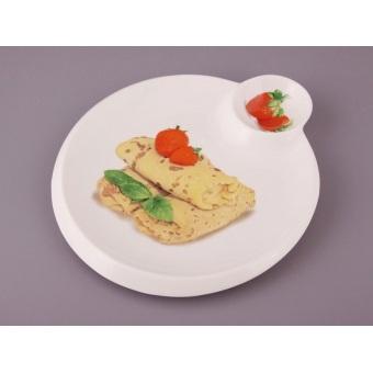 Блюдо для блинов Земляника (388-151)
