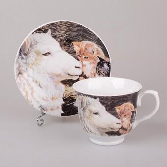 Чашка с блюдцем дружба (389-408)