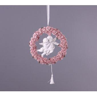 Декоративная подвеска на стену Веселые ангелы (390-331)