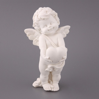 Фигурка декоративная Ангел с сердцем