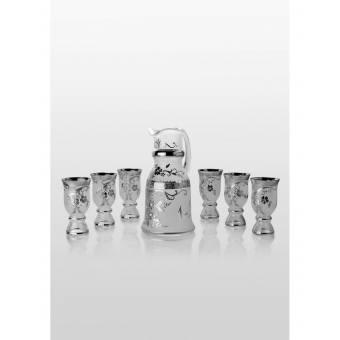 Royal набор для напитков Swarovski platinum (6+1)