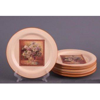 Набор тарелок Букет, 6 шт. (358-359)