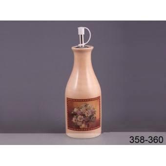 Бутылка для масла Букет (358-360)
