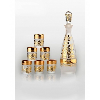 Consul набор для водки Arabesque gold (6+1)
