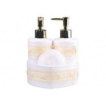 Набор для ванной комнаты кристина, 3 пр.