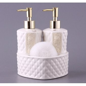 Набор для ванной комнаты лара, 3 пр.