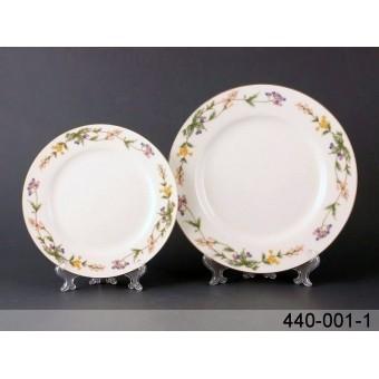 Набор тарелок весенний сад, 18 пр. (440-001-1)