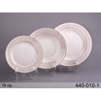 Набор тарелок счастье, 18 пр. (440-010-1)