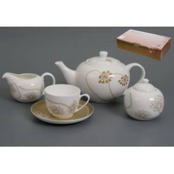 Чайный набор Лотос на 6 персон (440-013)