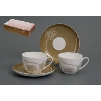 Чайный набор Лотос на 6 персон (440-014)