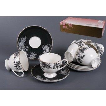Чайный сервиз Черный шелк (440-021)