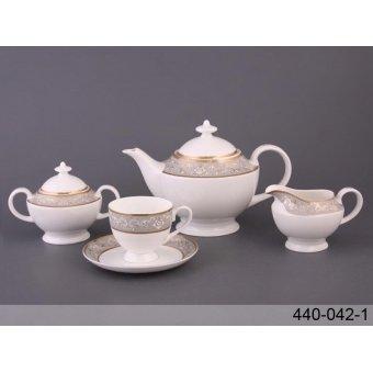 Чайный сервиз Бархат, 15 пр. (440-042-1)
