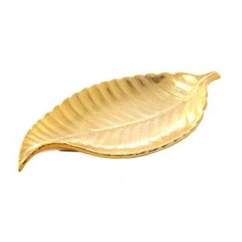 Блюдо декоративное Золотой лист (464-002)