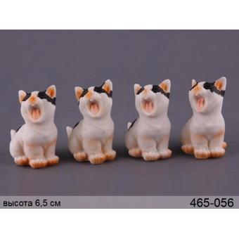 Комплект фигурок кошка, 4 шт