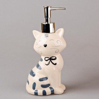 Дозатор для жидкого мыла Кошка (490-132-1)