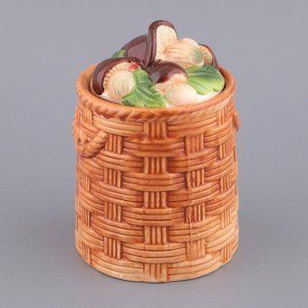 Банка для сыпучих продуктов Грибочки (490-219)