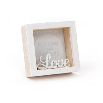 Фоторамка настольная Love (493-581)