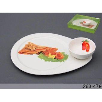 Блюдо с соусником Деликатес (263-479)