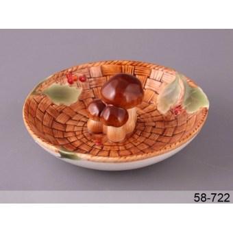 Блюдо для грибов Грибная поляна. (58-722)