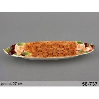 Блюдо грибная поляна (58-737)